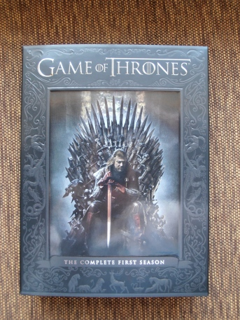 A Game of Thrones, George R.R. Martin, HBO, Season 1, DVD, Westeros, Seven Kingdoms, Stark, Lannister, Targaryen, Baratheon, King's Landing, Winterfell, Jon Snow, Ned Stark, Tyrion Lannister, Robert Baratheon, fantasy, drama, Iron Throne