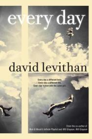 Book cover for Every Day by David Levithan