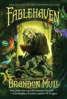 Book cover for Fablehaven by Brandon Mull