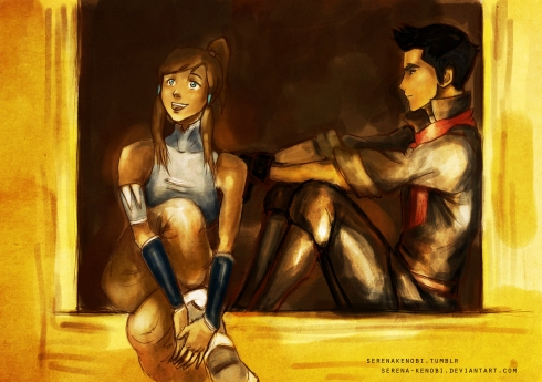 The Legend of Korra illustration