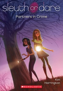Book cover for Partners in Crime by Kim Harrington