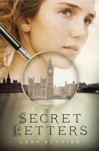 Book cover for Secret Letters by Leah Scheier