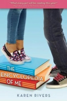 Book cover for The Encyclopedia of Me by Karen Rivers