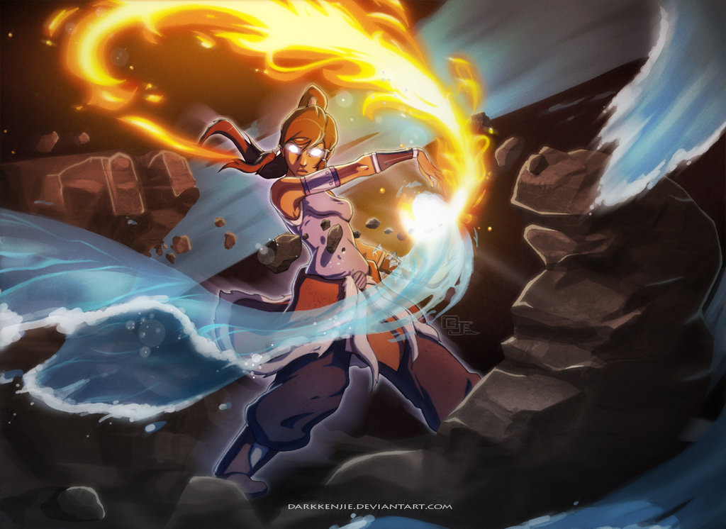 Excuse Me While I Fangirl: Legend of Korra Art
