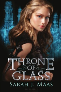 Book cover for Throne of Glass by Sarah J. Maas