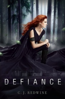 Book cover for Defiance by C.J. Redwine
