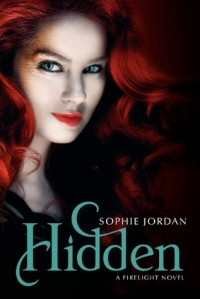 book cover for Hidden by Sophie Jordan