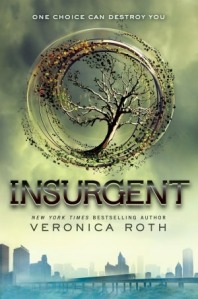 Book cover for Insurgent by Veronica Roth