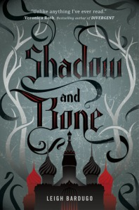 Book cover for Shadow and Bone by Leah Bardugo