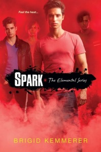 book cover for Spark by Brigid Kemmerer