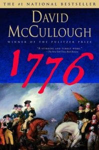 Book cover for 1776 by David McCullough