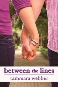 Book cover for Between the Lines by Tammara Webber