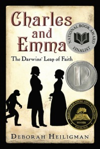 book cover for charles and Emma by Deborah Heiligman