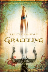 Book cover for Graceling by Kristin Cashore