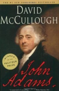 book cover for john Adams by David McCullough