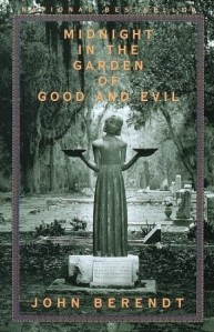 book cover for midnight in the garden of good and evil by John Berendt