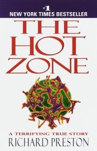 Book cover for The hot Zone by Richard Preston