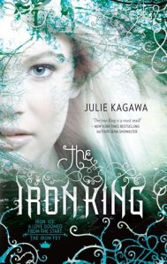Book cover for The Iron King by Julie Kagawa