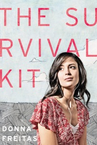 Book cover for the survival kit by Donna Freitas