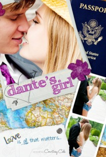 book cover for Dante's Girl by Courtney Cole
