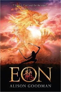 Book cover for Eon by Alison Goodman