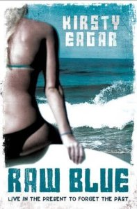 Book cover for Raw Blue by Kirsty Eagar