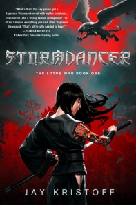 Book cover for Stormdancer by Jay Kristoff