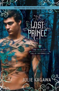 Book cover for The Lost Prince by Julie Kagawa