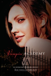 Book cover for Vampire Academy by Richelle Mead