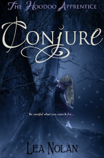 Book cover for Conjure by Lea Nolan