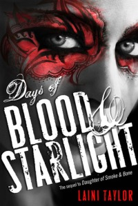 Book cover for Days of Blood and Starlight by Laini Taylor
