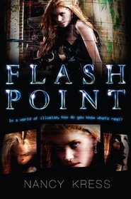 book cover for flash point by Nancy Kress