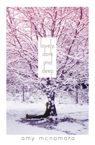 Book cover for Lovely, Dark and Deep by Amy McNamara
