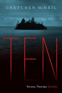 Book cover for Ten by Gretchen McNeil