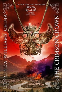 Book cover for The Crimson Crown by Cinda Williams Chima