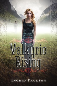Book cover for Valkyrie Rising by Ingrid Paulson