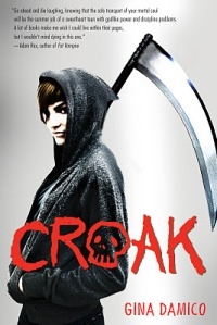 book cover for Croak by Gina Damico