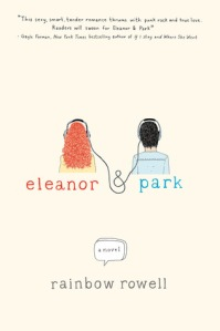 book cover for eleanor & park by Rainbow Rowell