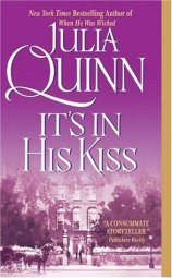 book cover for It's In His Kiss by Julia Quinn