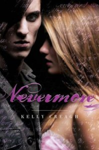 book cover for Nevermore by Kelly Creagh