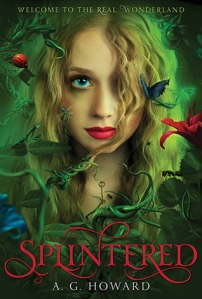 Book cover for Splintered by A.G. Howard