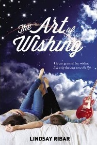 book cover for the art of wishing by Lindsay ribar