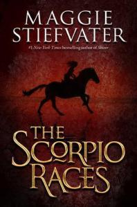 book cover for The Scorpio Races by Maggie Stiefvater