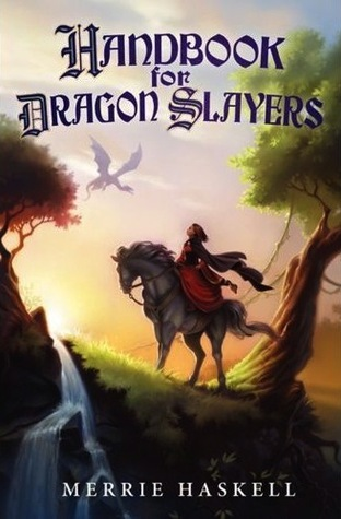 Book cover for Handbook for Dragon Slayers by Merrie Haskell