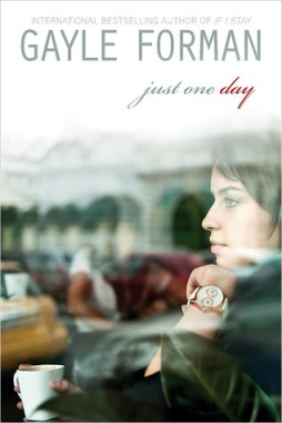 Book cover for Just One Day by Gayle Forman