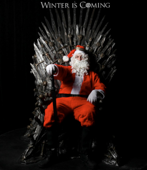 santa iron throne