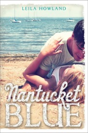 Book cover for Nantucket Blue by Leila Howland