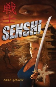 Book cover for Senshi by Cole Gibsen