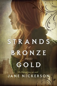 Book cover for Strands of Bronze and Gold by Jane Nickerson